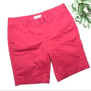 VINEYARD VINES | sz 8 pink Bermuda shorts